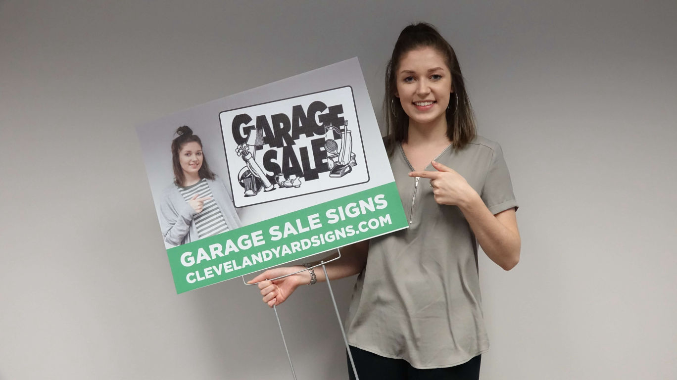 garage sale signs near me